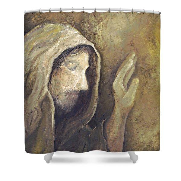 My Savior - My God Shower Curtain