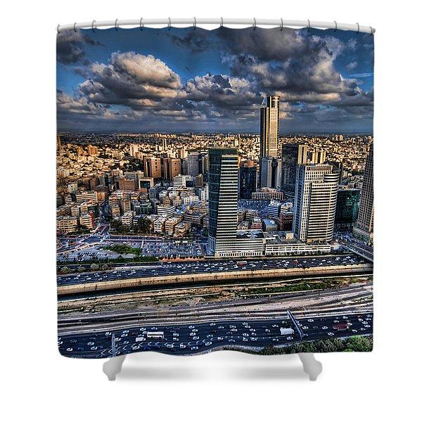 My Sim City Shower Curtain