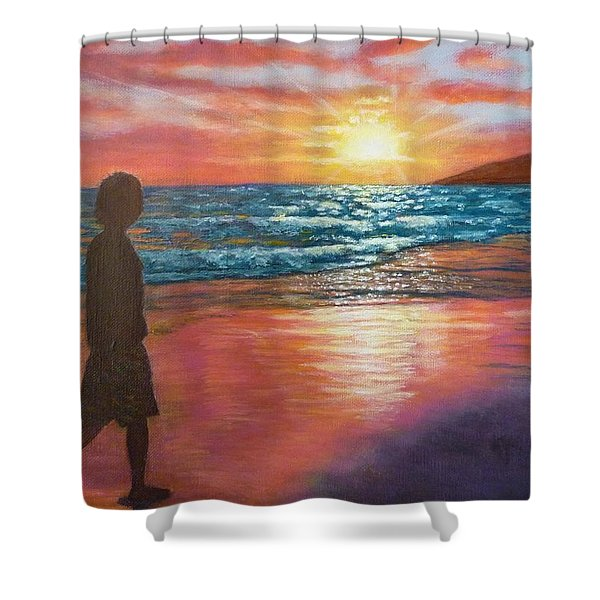 My Sonset Shower Curtain