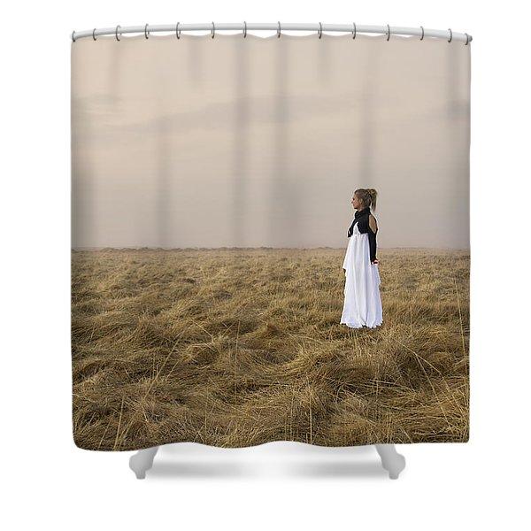 My Soul Awaits Shower Curtain
