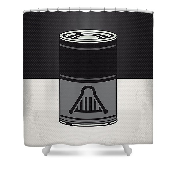 My Star Warhols Darth Vader Minimal Can Poster Shower Curtain