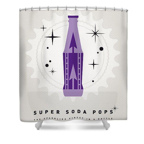 My Super Soda Pops No-25 Shower Curtain