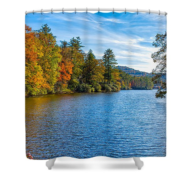 Myriad Colors Of Nature Shower Curtain