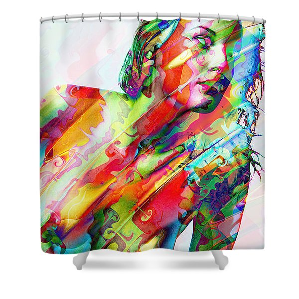 Myriad Of Colors Shower Curtain