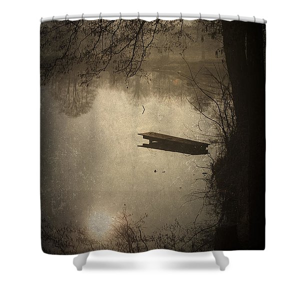 Mysterious Morning Shower Curtain