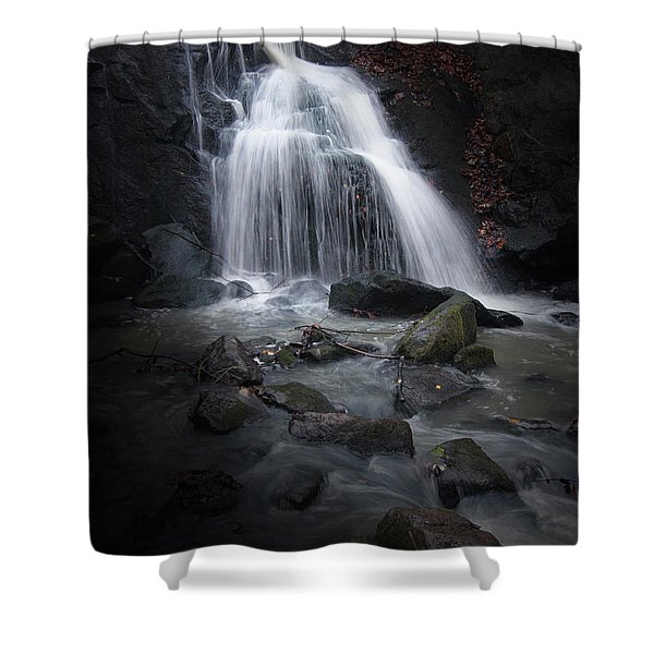 Mysterious Waterfall Shower Curtain