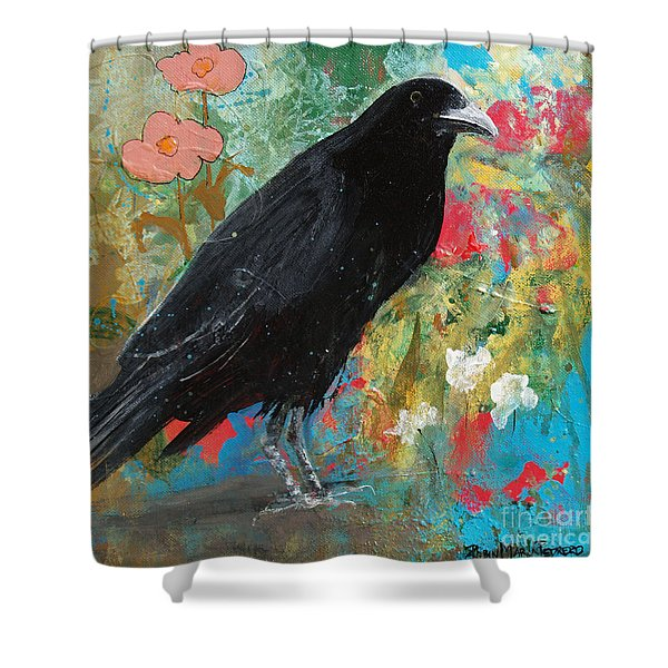 Mystery At Every Turn Shower Curtain