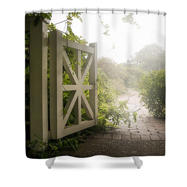 Mystic Garden - A Wonderful And Magical Place Shower Curtain