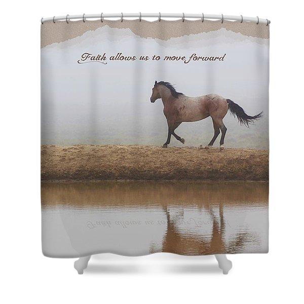 Mystical Beauty Inspirational Shower Curtain