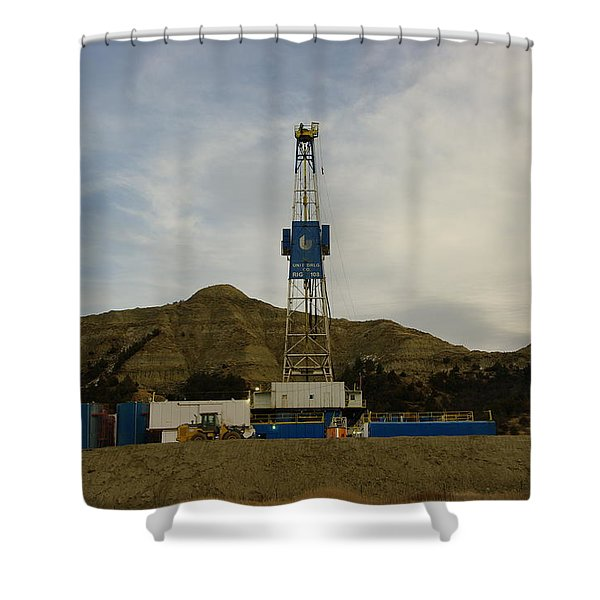 Nabors Rig 103 Shower Curtain