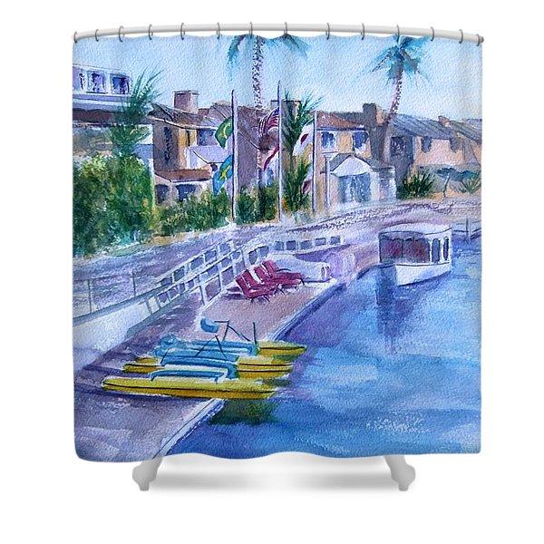 Naples Fun Shower Curtain