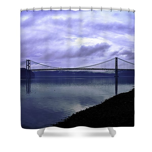 Narrows Bridge Shower Curtain