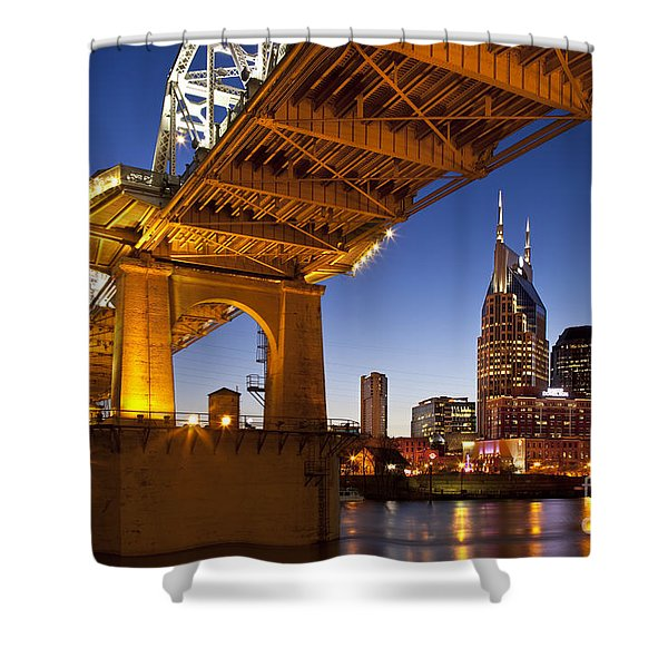 Shower Curtain featuring the photograph Nashville Tennessee by Brian Jannsen