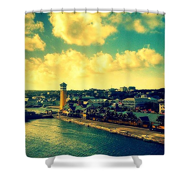 Nassau The Bahamas Shower Curtain