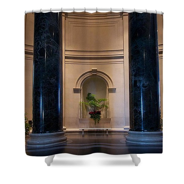National Gallery Of Art Christmas Shower Curtain