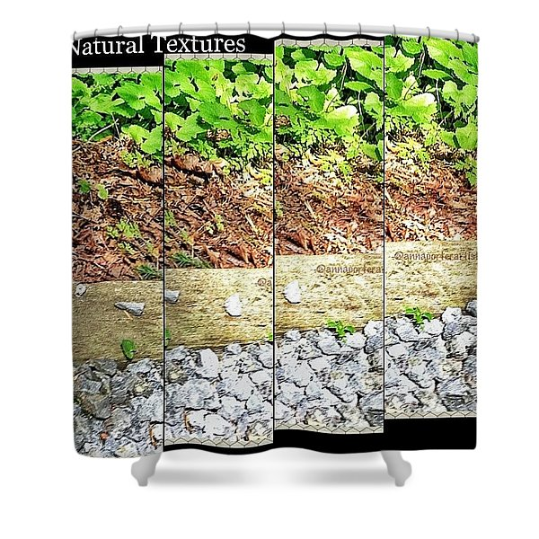 Natural Textures Shower Curtain