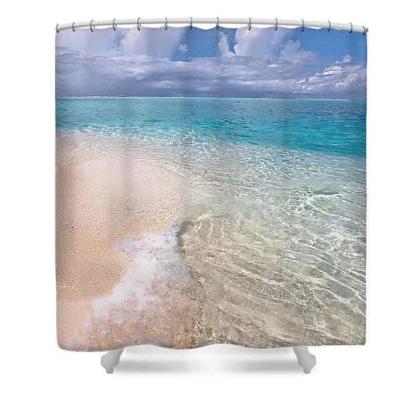 Natural Wonder. Maldives Shower Curtain