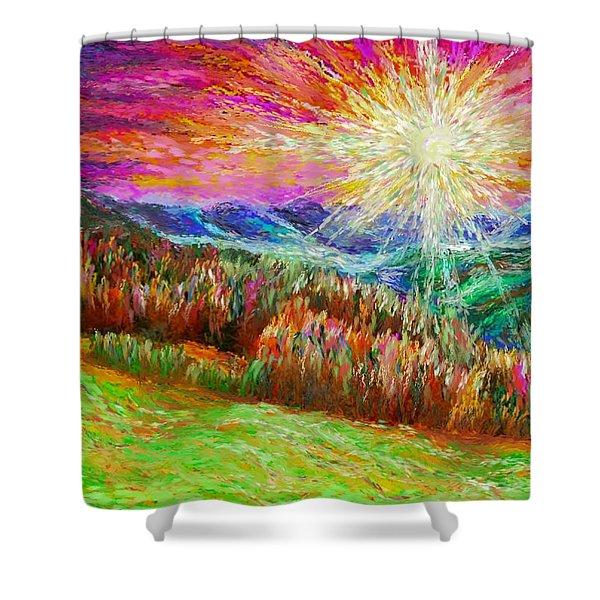 Nature 1  25 2015 Shower Curtain