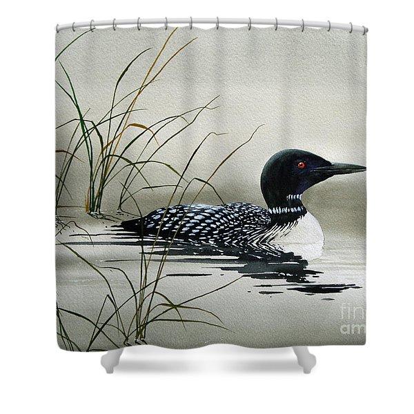 Nature's Serenity Shower Curtain