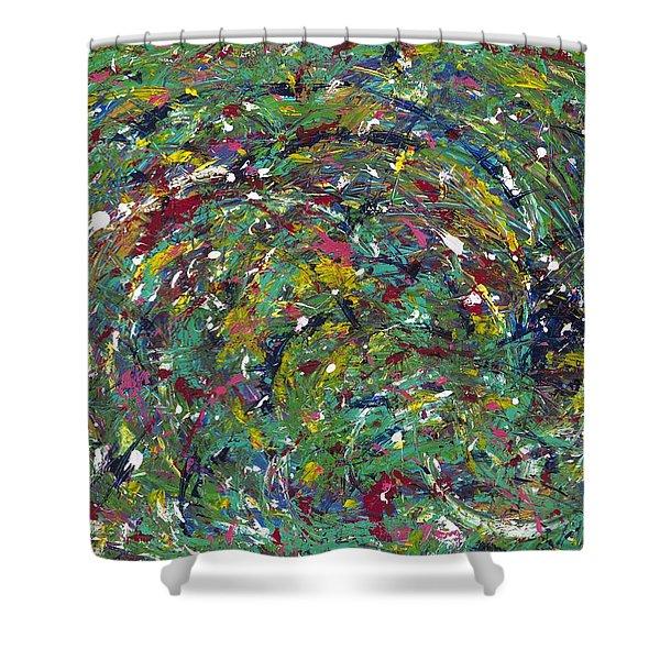 Nature's Vortex Shower Curtain