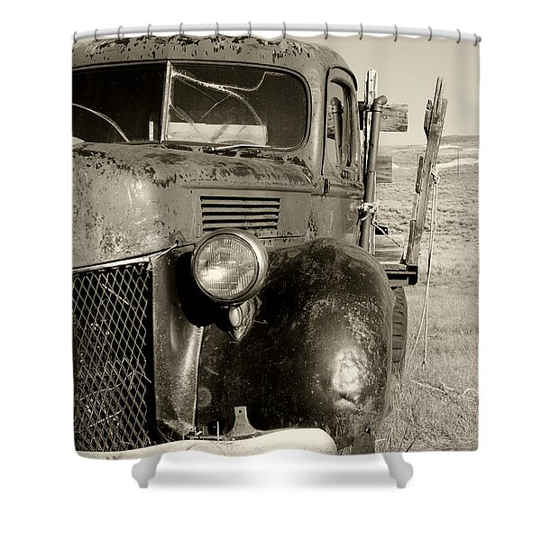Needs Gas By Diana Sainz Shower Curtain