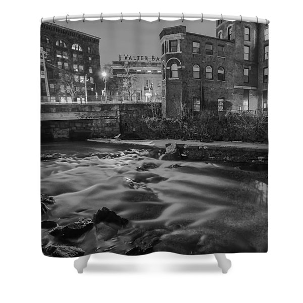 Neponset At Night Shower Curtain