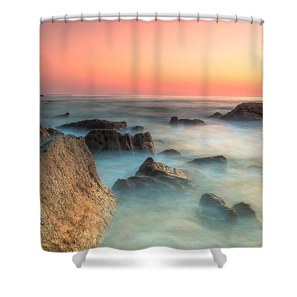 Neptune Lands Shower Curtain