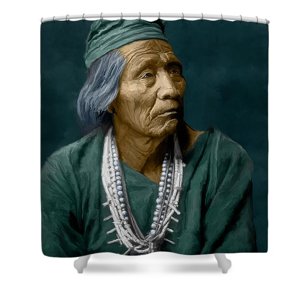 Nesjaja Hatali - Navaho Shower Curtain