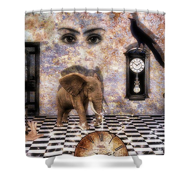 Never Forget It Is Not Too Late To Look Back Upon The Future Shower Curtain