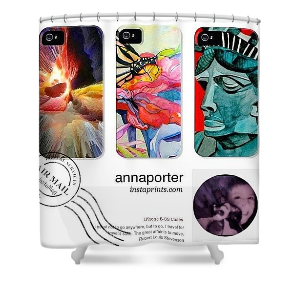 New Abstract Art Iphone 5-5s Cases Shower Curtain
