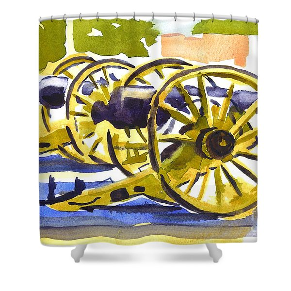 New Cannon Shower Curtain