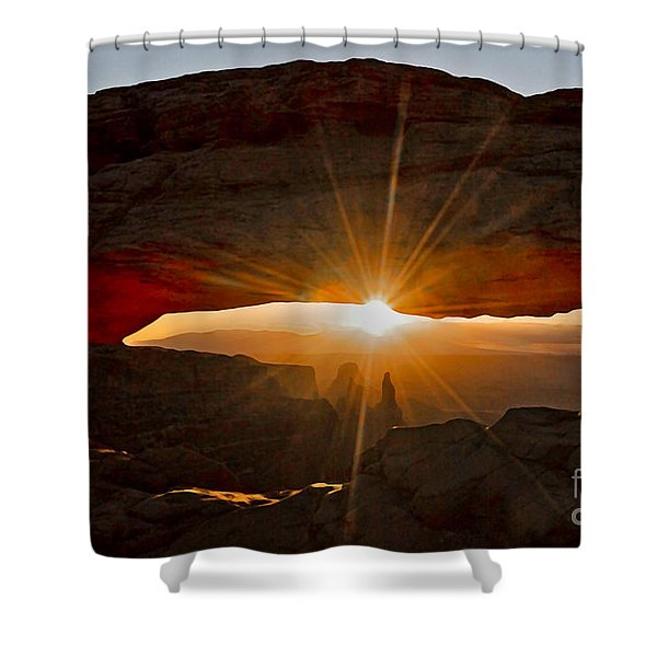 Shower Curtain featuring the photograph New Day by Mae Wertz