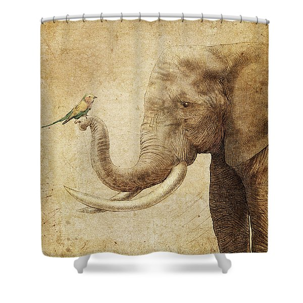 New Friend Shower Curtain
