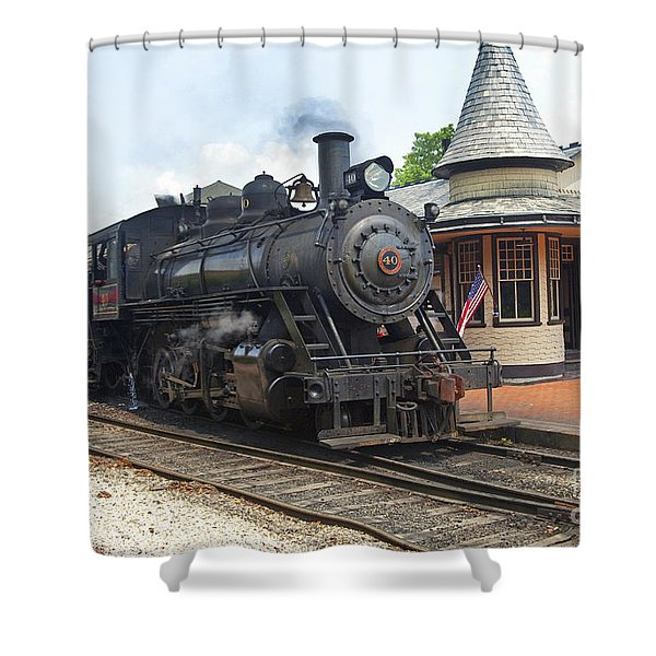 New Hope Station Shower Curtain