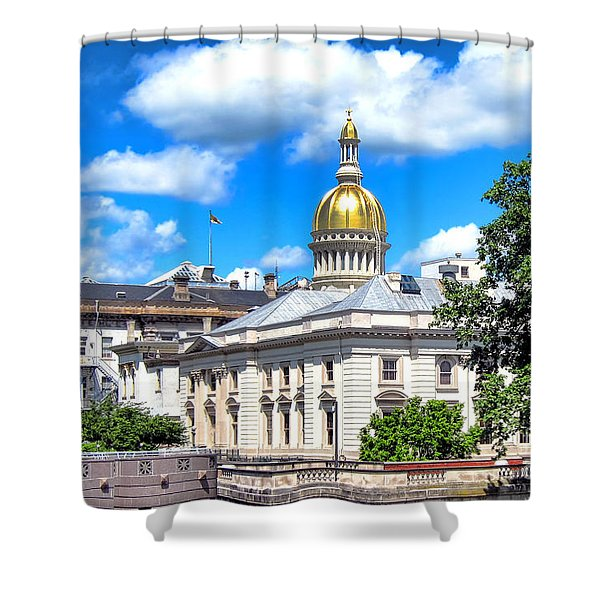 New Jersey Capitol Shower Curtain