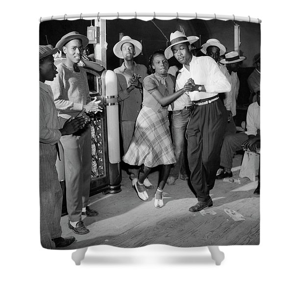 New Jersey Dance, 1942 Shower Curtain