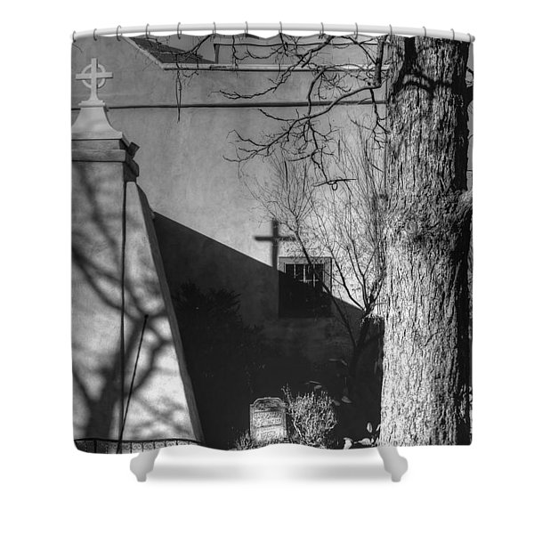 New Mexico Mission Shower Curtain