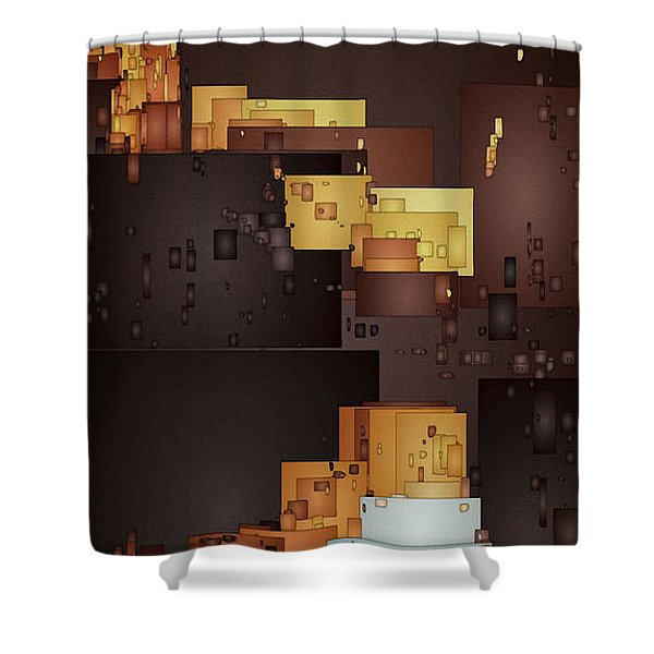 New Pueblo 1 Shower Curtain