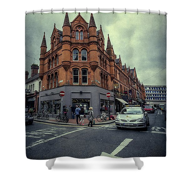 New Road. Old City. Shower Curtain