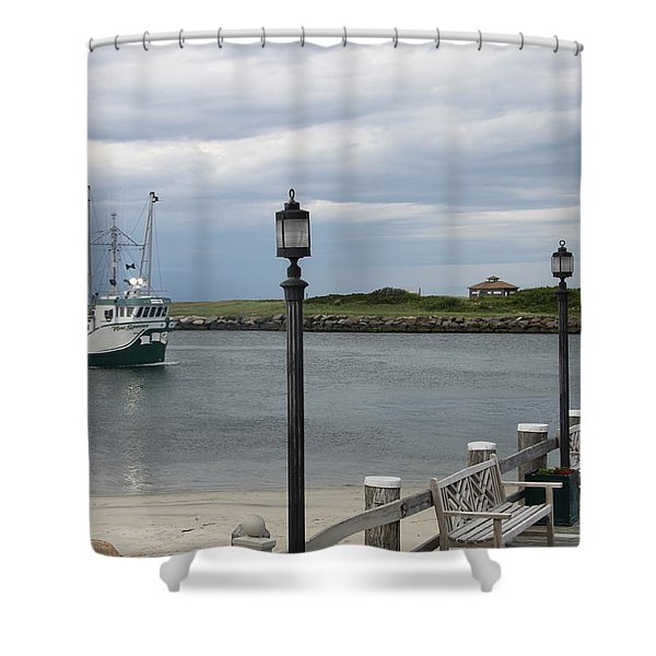 New Species Head Back Shower Curtain