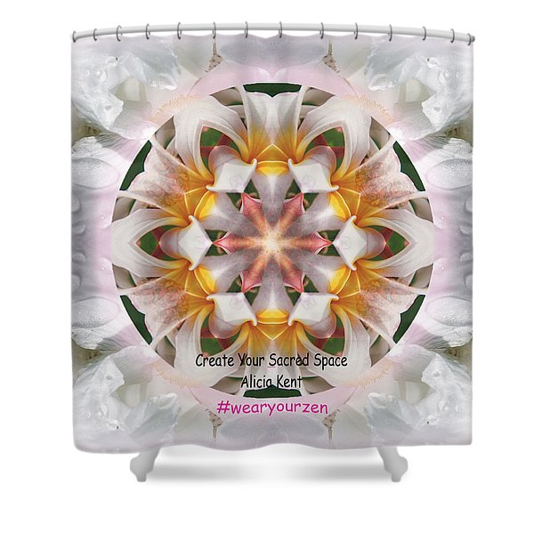 The Heart Knows Custom Shower Curtain