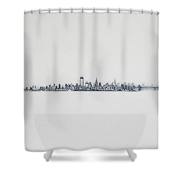 New Years Day Shower Curtain
