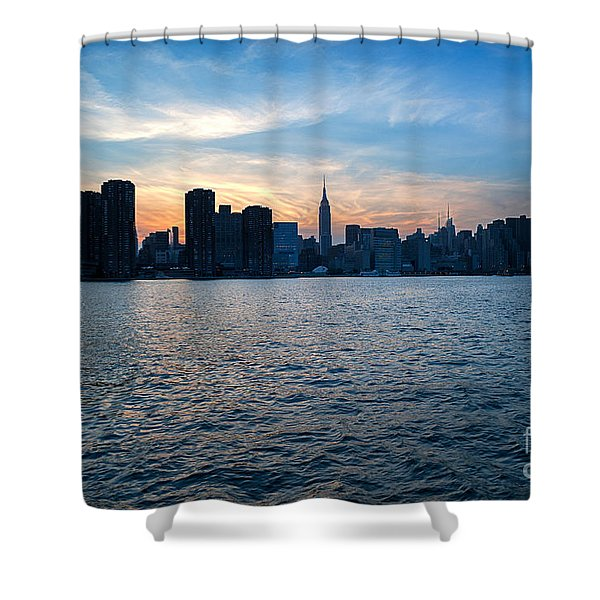 New York New York Shower Curtain