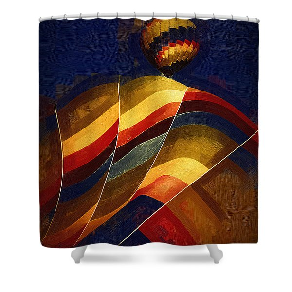 Next To Go Shower Curtain