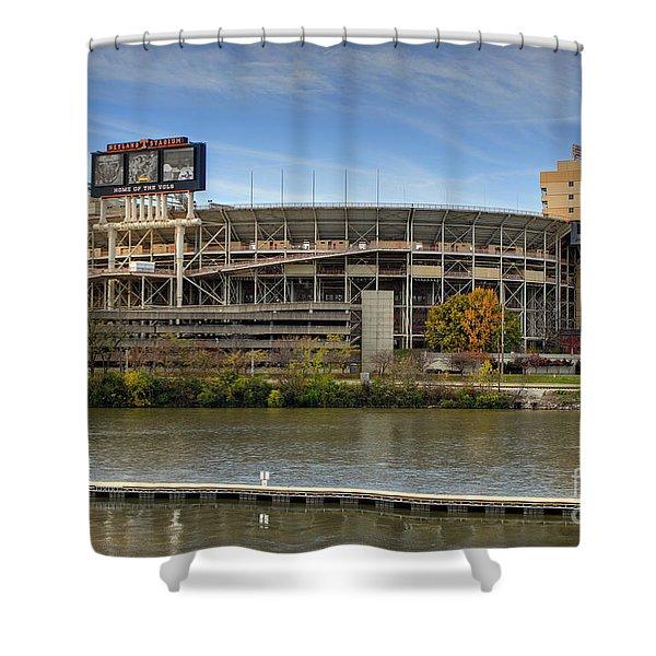 Neyland Stadium Shower Curtain