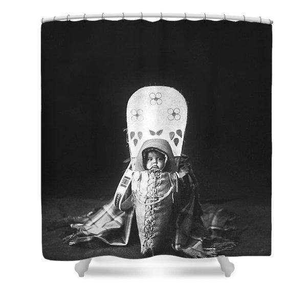 Nez Perce Babe Circa 1899 Shower Curtain
