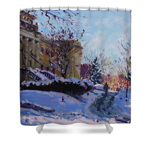 Niagara Arts And Cultural Center Shower Curtain