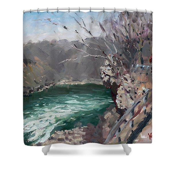 Niagara Falls Gorge Shower Curtain