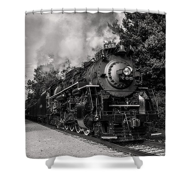 Nickel Plate Berkshire 765 Shower Curtain