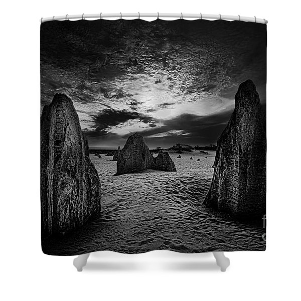 Night Comes Slowly Shower Curtain